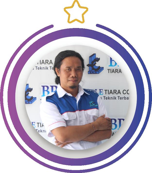 I Gede Sanjaya - Ka. Sarana Prasarana BPLE